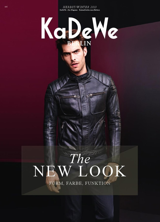 KADEWE MAGAZINE- Jon Kortajarena by Horst Diekgerdes. Fall 2013, www.imageamplified.com, Image Amplified