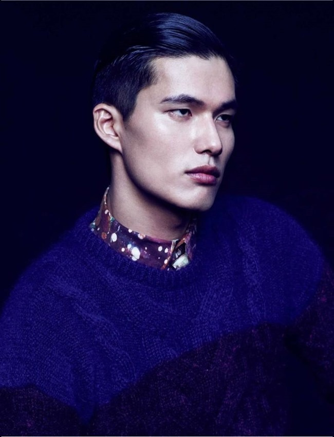 NUMERO HOMME CHINA- Dae Na by Bruno Staub. Jean Michel Clerc, Fall 2013, www.imageamplified.com, Image Amplified (2)