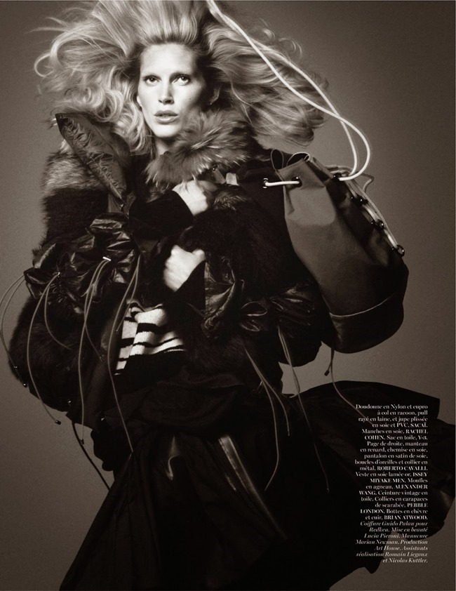VOGUE PARIS- Iselin Steiro in Tribal by David Sims. Marie Chaix, October 2013, www.imageamplified.com, Image Amplified (8)