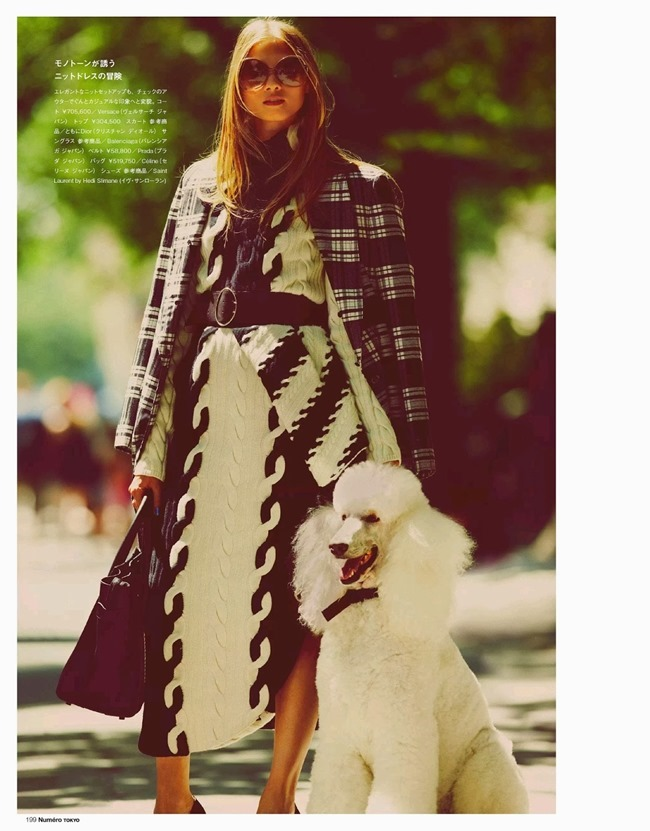 NUMERO TOKYO- Anna Selezneva in Plaid Plays by Guy Aroch. Elizabeth Sulcer, November 2013, www.imageamplified.com, Image Amplified (8)