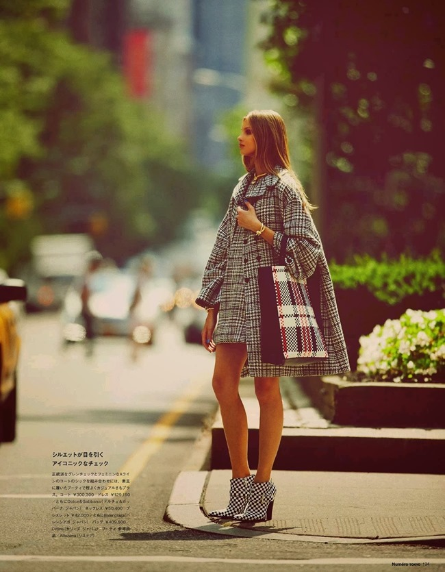 NUMERO TOKYO- Anna Selezneva in Plaid Plays by Guy Aroch. Elizabeth Sulcer, November 2013, www.imageamplified.com, Image Amplified (3)