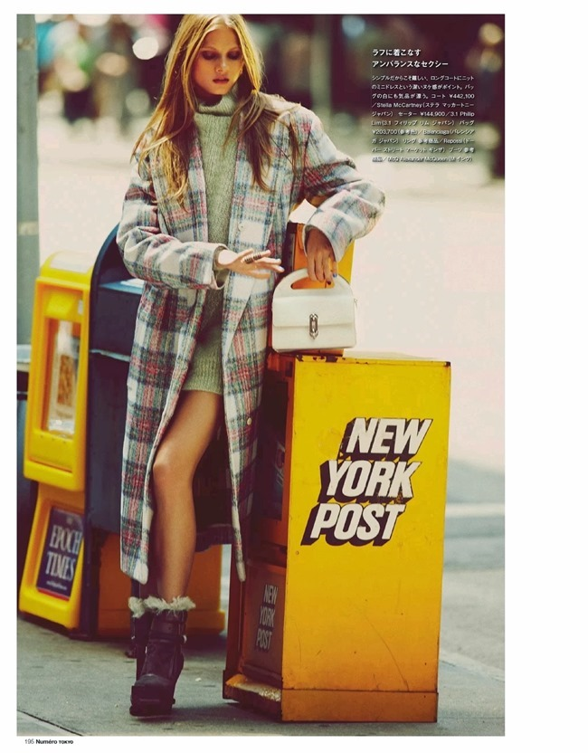 NUMERO TOKYO- Anna Selezneva in Plaid Plays by Guy Aroch. Elizabeth Sulcer, November 2013, www.imageamplified.com, Image Amplified (4)