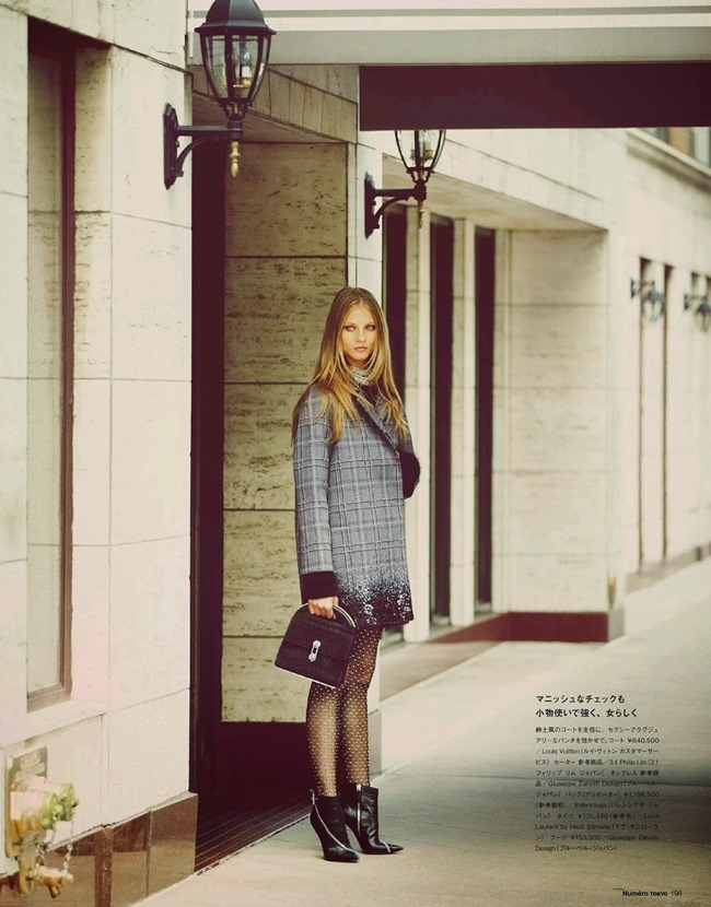 NUMERO TOKYO- Anna Selezneva in Plaid Plays by Guy Aroch. Elizabeth Sulcer, November 2013, www.imageamplified.com, Image Amplified (7)