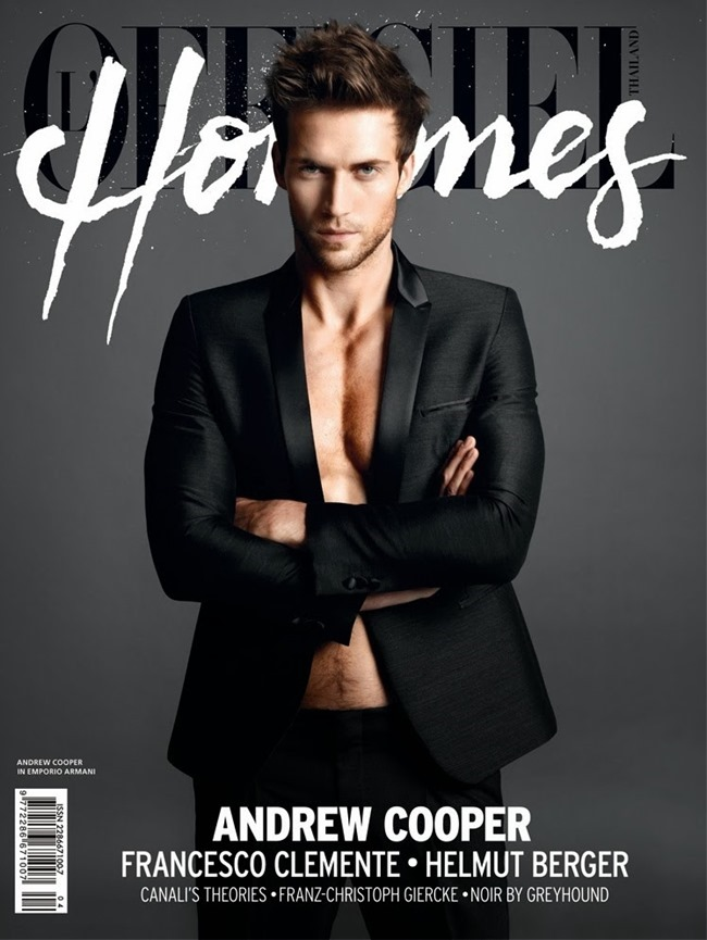 L'OFFICIEL HOMMES THAILAND- Andrew Cooper in One to Watch by Arseto Adiputra. www.imageamplified.com, Image Amplified