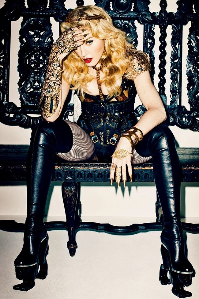 HARPER'S BAZAAR MAGAZINE- Madonna in Truth or Dare$% by Terry Richardson. B Akerlund, November 2013, www.imageamplified.com, Image Amplified (2)