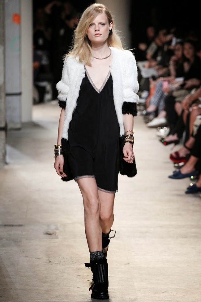 PARIS FASHION WEEK- Zadig & Voltaire Spring 2014. www.imageamplified.com, Image Amplified