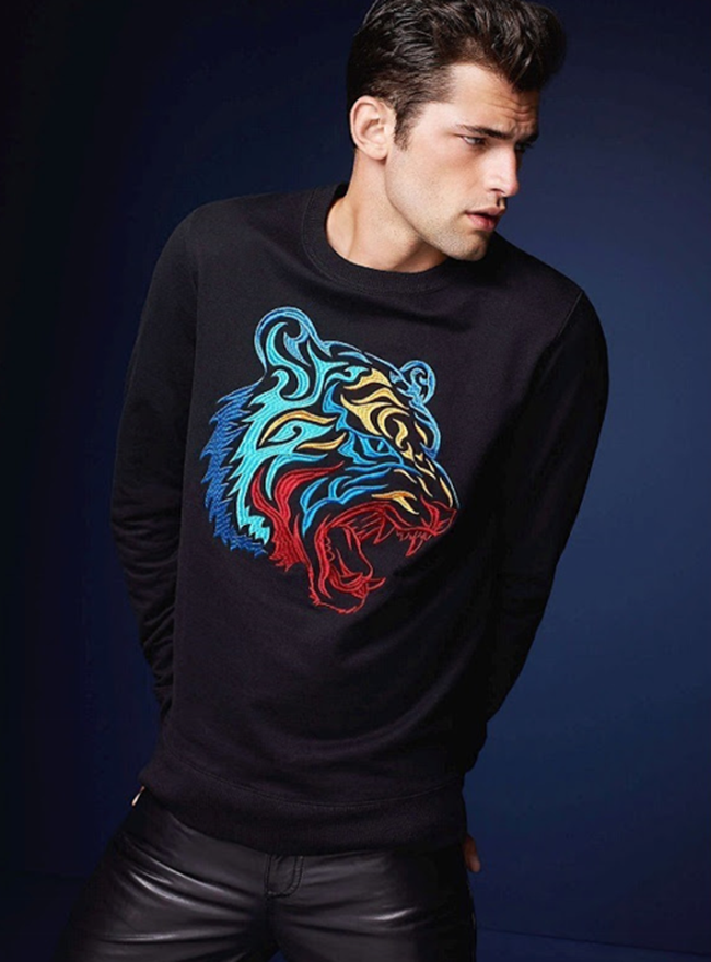 LOOKBOOK- Sean O'Pry for Simons Le 31 Urban. www.imageamplified.com, Image Amplified (1)