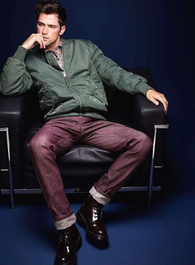 LOOKBOOK- Sean O'Pry for Simons Le 31 Urban. www.imageamplified.com, Image Amplified (7)