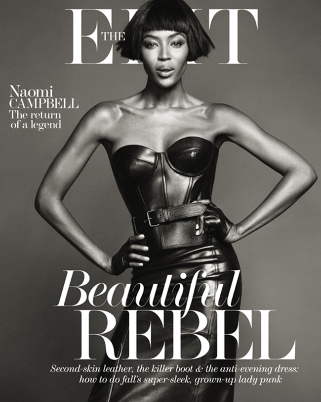 THE EDIT MAGAZINE- Naomi Campbell in Model Muse by Nico Bustos. Sasa Thomann, October 2013, www.imageamplified.com, Image Amplified