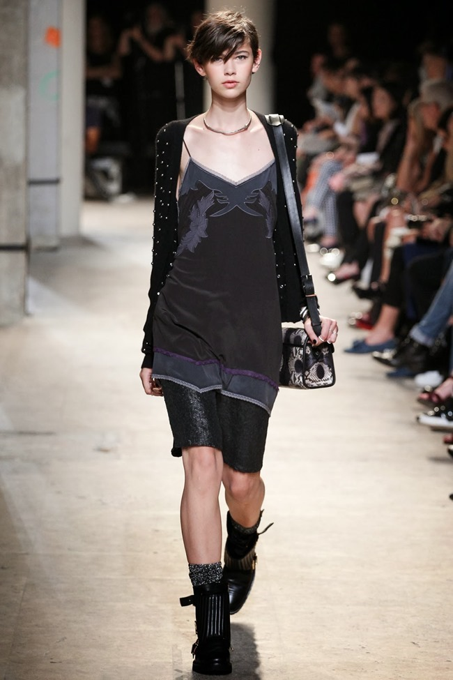 PARIS FASHION WEEK- Zadig & Voltaire Spring 2014. www.imageamplified.com, Image Amplified (20)