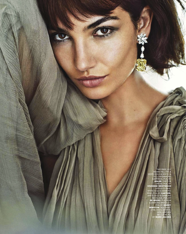 TATLER UK- Lily Aldridge in Do My Diamonds Look Big In This by Marc Hom. Deep Kailey, November 2013, www.imageamplified.com, Image Amplified (1)