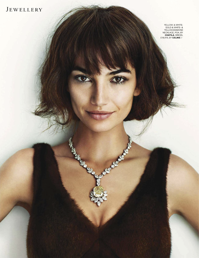 TATLER UK- Lily Aldridge in Do My Diamonds Look Big In This by Marc Hom. Deep Kailey, November 2013, www.imageamplified.com, Image Amplified (4)