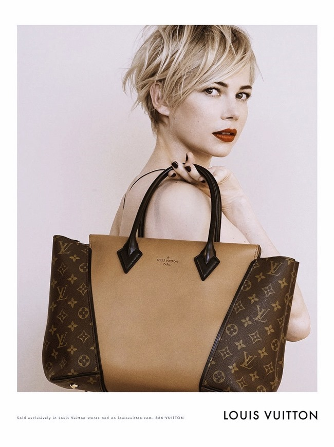 CAMPAIGN- Michelle Williams for Louis Vuitton Handbags Fall 2013 by Peter Lindbergh. www.imageamplified.com, Image Amplified (3)