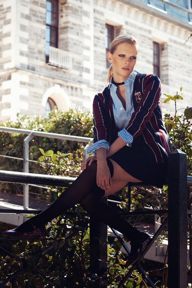 COSMOPOLITAN TURKEY- Lina in Fashion School by Semih Kanmaz. Ebru Gulcek, October 2013, www.imageamplified.com, Image Amplified (2)