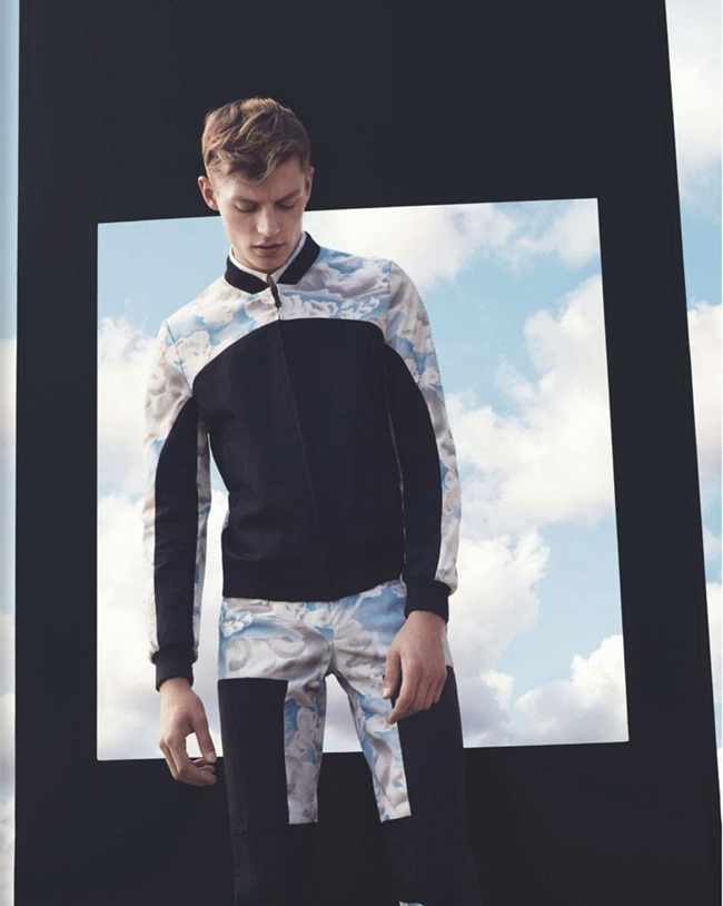 NUMERO HOMME- Janis Ancens by Jacob Sutton. Jean Michel Clerc, Fall 2013, www.imageamplified.com, Image Amplified