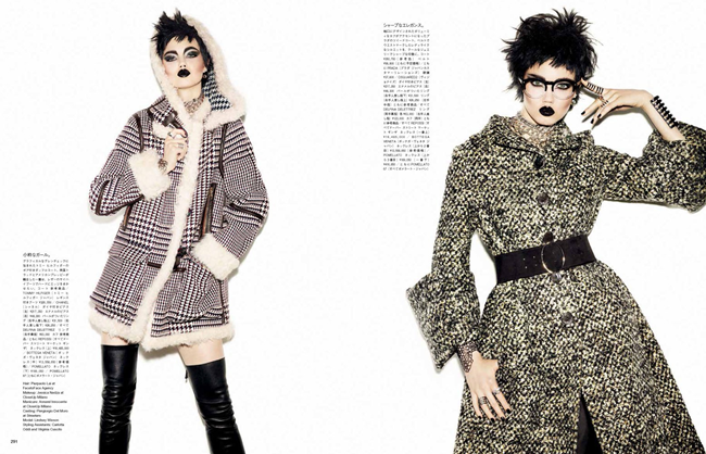 VOGUE JAPAN- Lindsey Wixson in A Classic Rebel by Giampaolo Sgura. Anna Dello Russo, November 2013, www.imageamplified.com, Image Amplified (5)