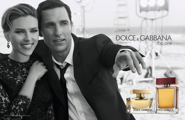 CAMPAIGN- Scarlett Johansson & Matthew McConaughey for Dolce & Gabbana The One Fragrance by Peter Lindbergh. www.imageamplified.com, Image Amplified (1)