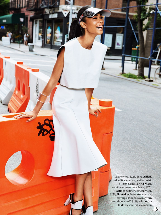 ELLE AUSTRALIA- Chanel Iman in Urban Renewal by Ben Watts. Nicole Bonython-Hines, October 2013, www.imageamplified.com, image Amplified (1)