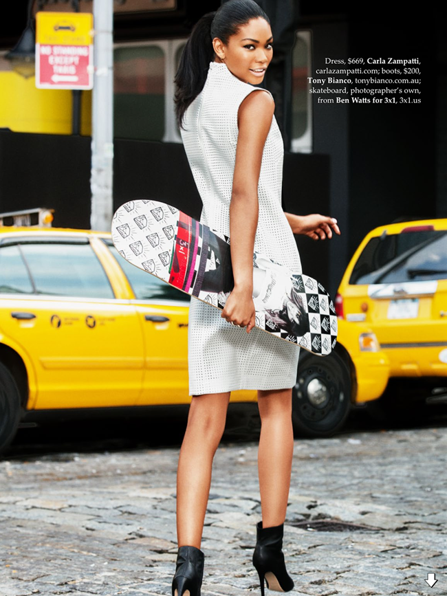 ELLE AUSTRALIA- Chanel Iman in Urban Renewal by Ben Watts. Nicole Bonython-Hines, October 2013, www.imageamplified.com, image Amplified (3)