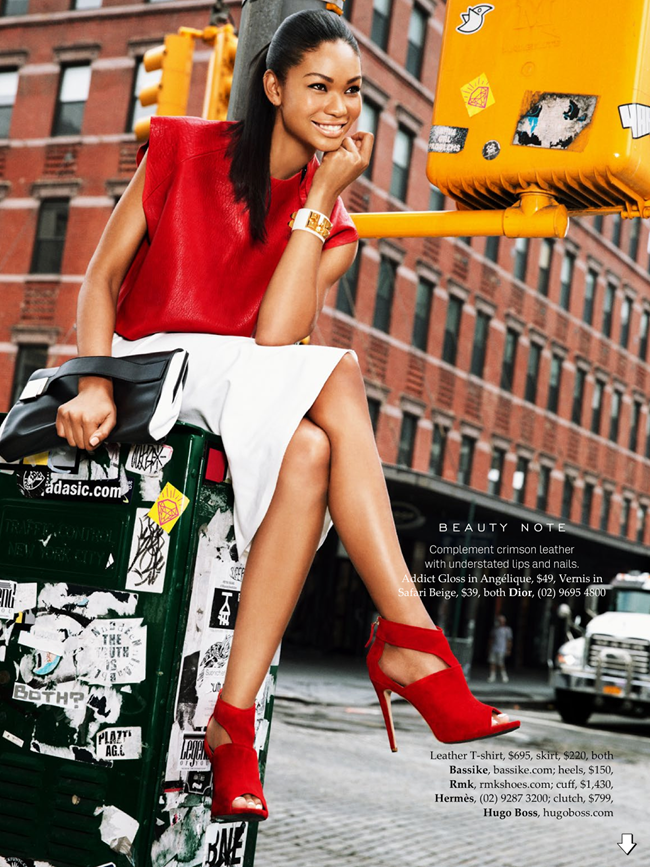 ELLE AUSTRALIA- Chanel Iman in Urban Renewal by Ben Watts. Nicole Bonython-Hines, October 2013, www.imageamplified.com, image Amplified (7)