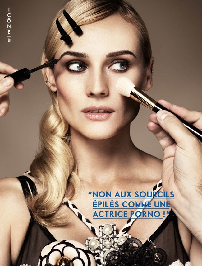 GLAMOUR PARIS- Diane Kruger in Confessions of a Beauty Addict by Jason Kim. Virginie Benarroch, November 2013, www.imageamplified.com, Image Amplified (6)