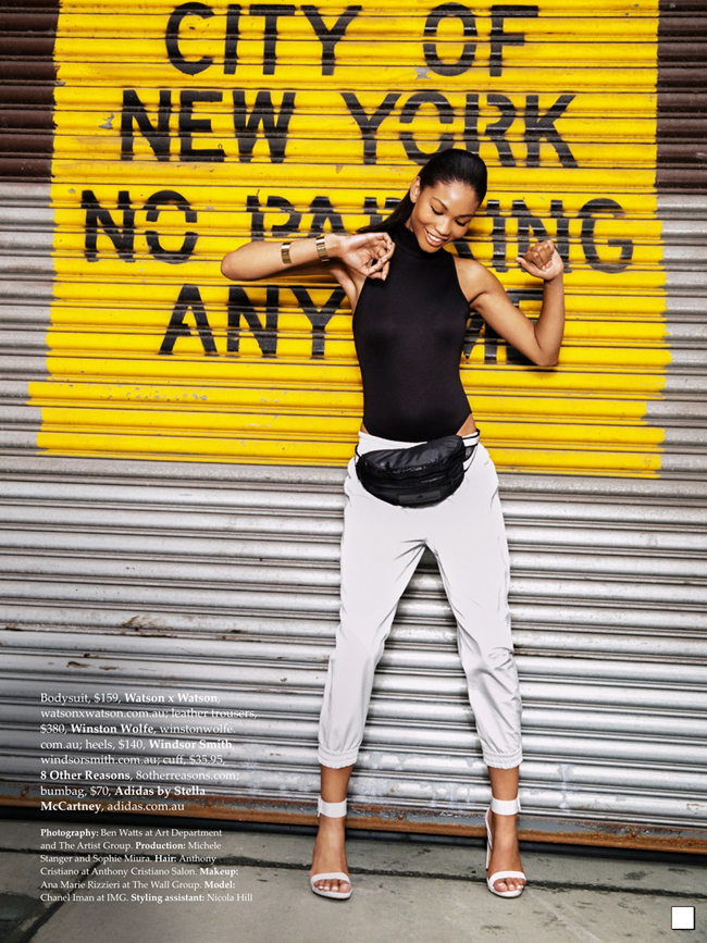 ELLE AUSTRALIA- Chanel Iman in Urban Renewal by Ben Watts. Nicole Bonython-Hines, October 2013, www.imageamplified.com, image Amplified (9)
