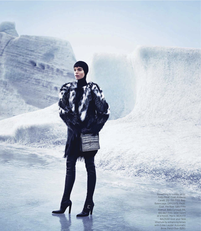 HARPER'S BAZAAR MAGAZINE- Meghan Collison in Warm Up To Fall's New Coats by Nathaniel Goldberg. Alastair McKimm, November 2013, www.imageamplified.com, Image Amplified (2)