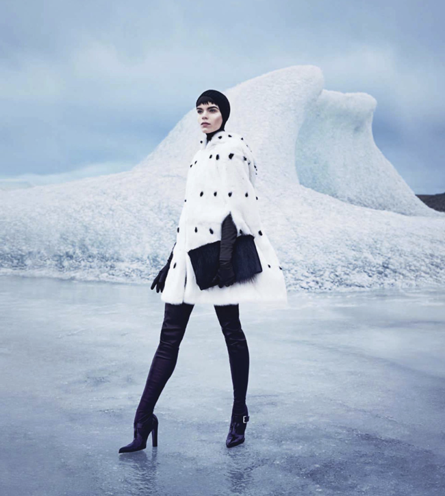HARPER'S BAZAAR MAGAZINE- Meghan Collison in Warm Up To Fall's New Coats by Nathaniel Goldberg. Alastair McKimm, November 2013, www.imageamplified.com, Image Amplified (5)