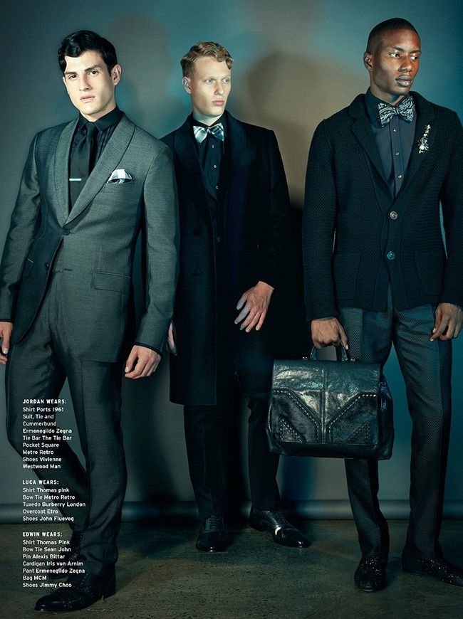INSTINCT MAGAZINE- Edwin Gill, Jordan Redalado & Luca Schmitz in Legends of the Fall by Vincent Dilio. November 2013, Eric Launder, www.imageamplified.com, Image Amplified (5)
