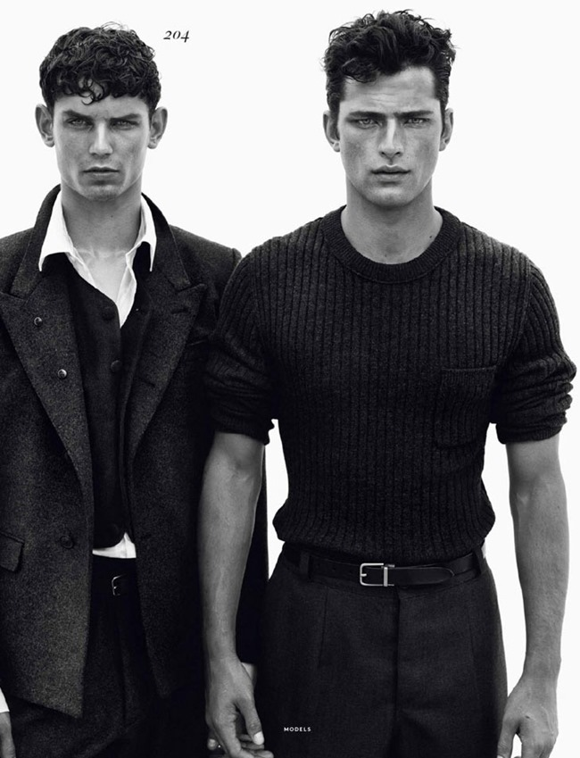 VOGUE HOMMES INTERNATIONAL- Male Models by Solve Sundsbo. Beat Bolliger, www.imageamplified.com, Image Amplified