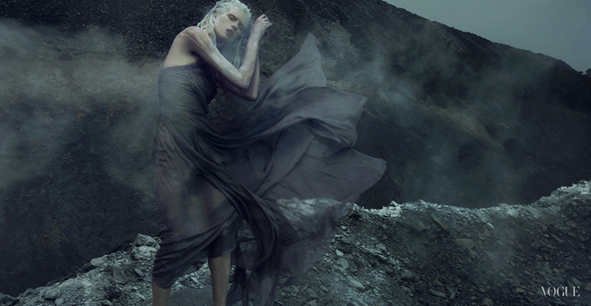VOGUE ITALIA- Alyona Subbotina in An Accidental Fall by An Le. Phuong My, Fall 2013, www.imageamplified.com, Image Amplified (1)