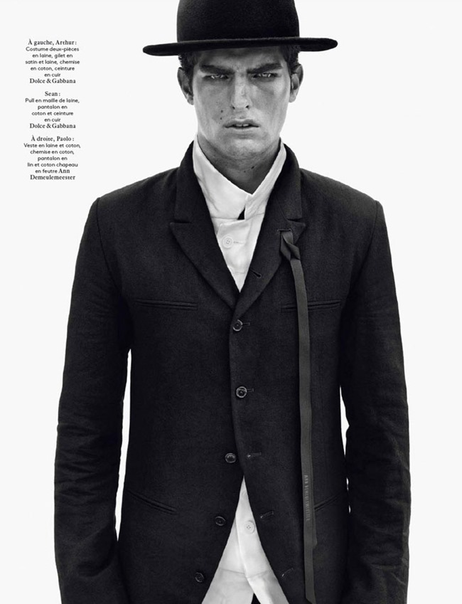 VOGUE HOMMES INTERNATIONAL- Male Models by Solve Sundsbo. Beat Bolliger, www.imageamplified.com, Image Amplified (14)