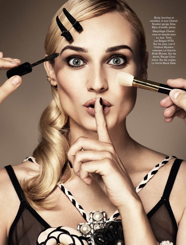 GLAMOUR PARIS- Diane Kruger in Confessions of a Beauty Addict by Jason Kim. Virginie Benarroch, November 2013, www.imageamplified.com, Image Amplified (7)