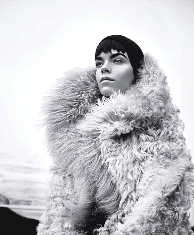 HARPER'S BAZAAR MAGAZINE- Meghan Collison in Warm Up To Fall's New Coats by Nathaniel Goldberg. Alastair McKimm, November 2013, www.imageamplified.com, Image Amplified (7)
