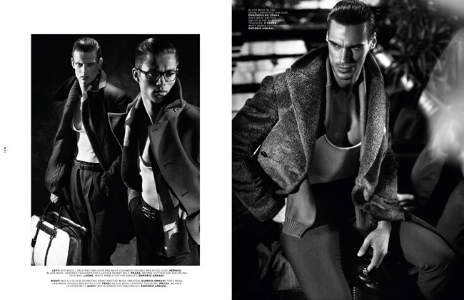 L'OFFICIEL HOMMES SINGAPORE- Conrad Ardelius, Radovan Herich & Adam Butcher in Sharp Suave by ChuanDo & Frey. Jumius Wong, Jack Wang, October 2013, www.imageamplified.com, Image Amplified