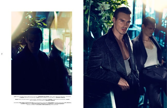 L'OFFICIEL HOMMES SINGAPORE- Conrad Ardelius, Radovan Herich & Adam Butcher in Sharp Suave by ChuanDo & Frey. Jumius Wong, Jack Wang, October 2013, www.imageamplified.com, Image Amplified (5)