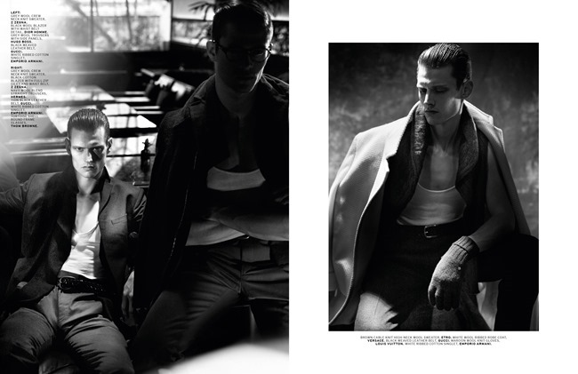L'OFFICIEL HOMMES SINGAPORE- Conrad Ardelius, Radovan Herich & Adam Butcher in Sharp Suave by ChuanDo & Frey. Jumius Wong, Jack Wang, October 2013, www.imageamplified.com, Image Amplified (4)