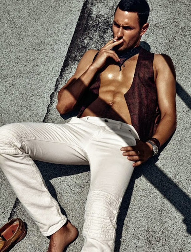 DSECTION MAGAZINE- Noah Mills in The New Boy In Hollywood by Jack Waterlot. www.imageamplified.com, Image Amplified (3)