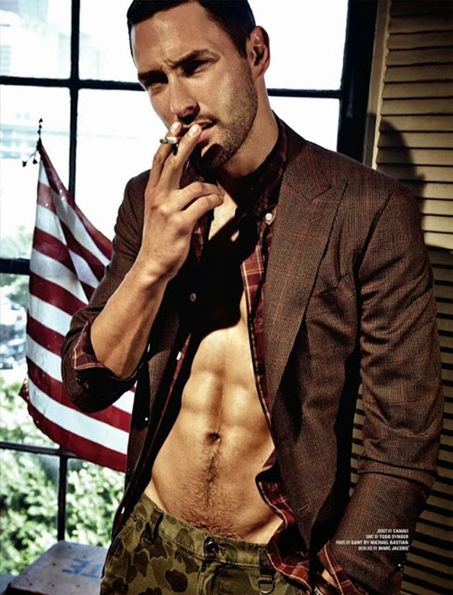 DSECTION MAGAZINE- Noah Mills in The New Boy In Hollywood by Jack Waterlot. www.imageamplified.com, Image Amplified (2)