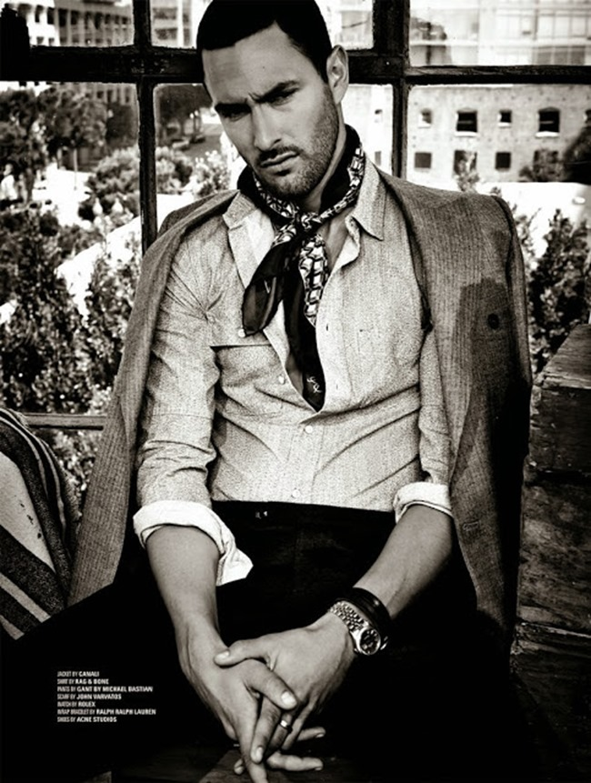 DSECTION MAGAZINE- Noah Mills in The New Boy In Hollywood by Jack Waterlot. www.imageamplified.com, Image Amplified (1)