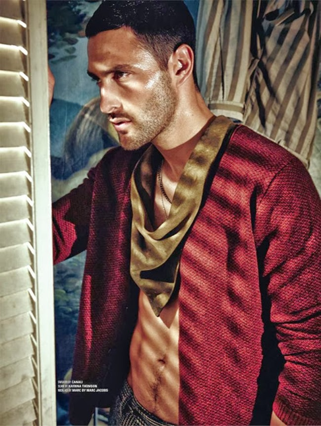 DSECTION MAGAZINE- Noah Mills in The New Boy In Hollywood by Jack Waterlot. www.imageamplified.com, Image Amplified (6)