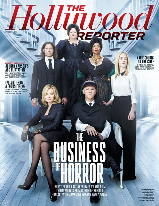 THE HOLLYWOOD REPORTER- American Horror Story Cast by Steve Schoefield. www.imageamplified.com, Image Amplified