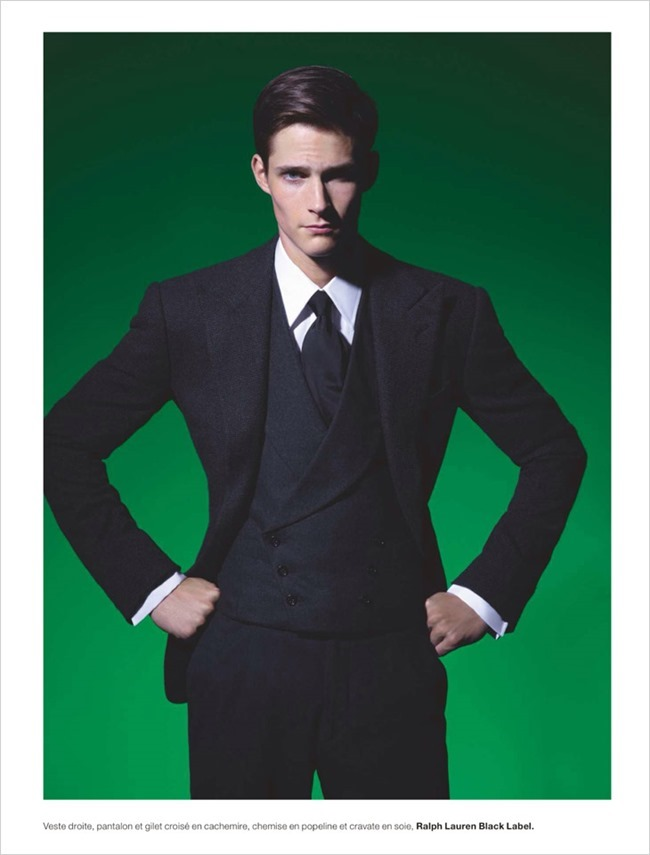 NUMERO HOMME- Philip Witts by Karl Lagerfeld. Serge Giradi, www.imageamplified.com, Image Amplified