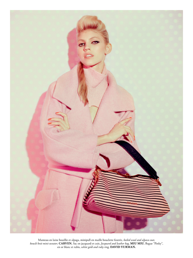 MADAME AIR FRANCE- Devon Windsor in Pink New Deal by Amanda Pratt. November 2013, Virginie Dhello, www.imageamplified.com, Image Amplified (7)