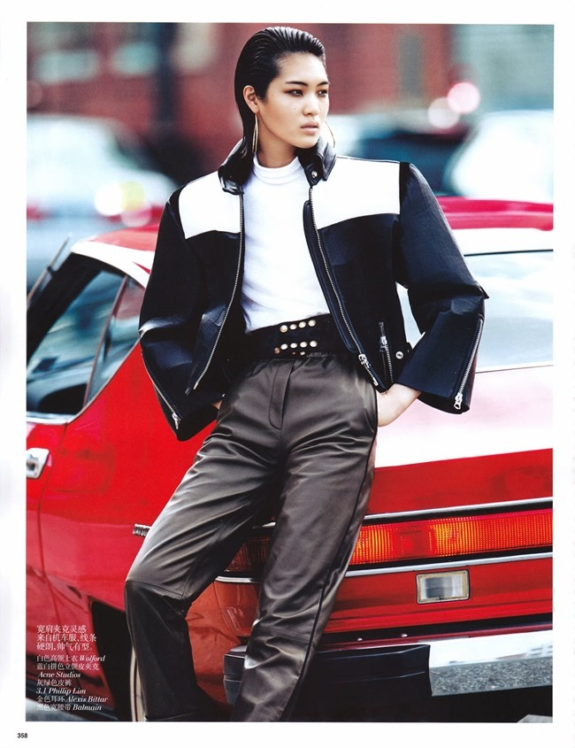 VOGUE CHINA- Chiharu Okunugi in Street Leather by Lachlan Bailey. Clare Richardson, November 2013, www.imageamplified.com, Image Amplified (5)