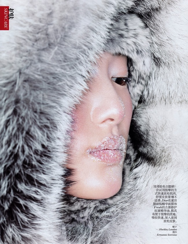 VOGUE CHINA- Shu Pei in Coutn on Me by Eric Maillet. Gillian Wilkins, November 2013, www.imageamplified.com, Image Amplified (3)