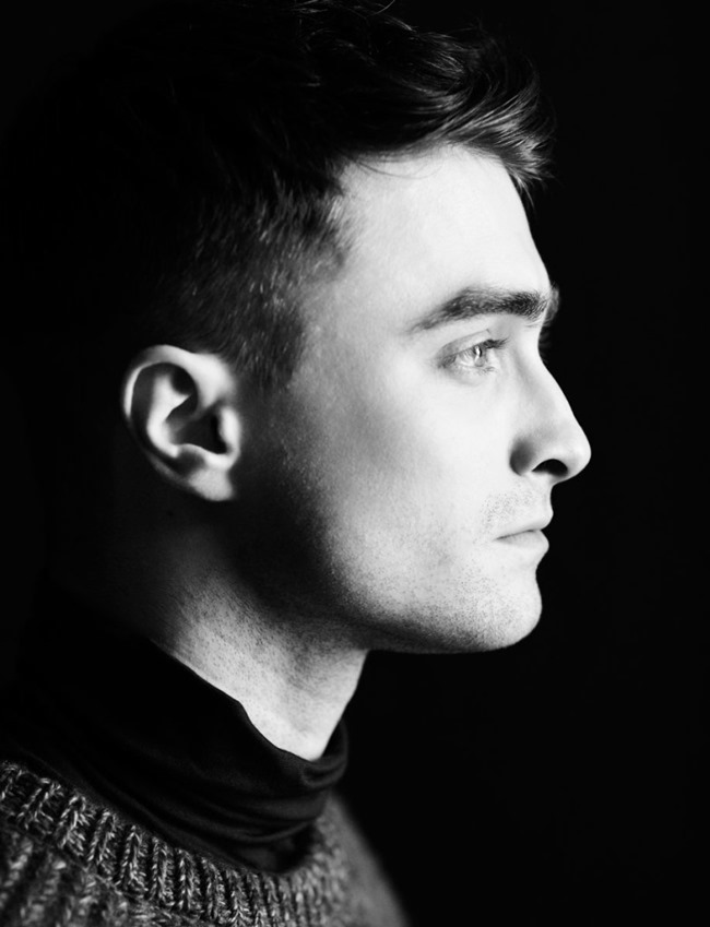 FLAUNT MAGAZINE- Daniel Radcliffe by Adam Whitehead. Stevie Westgarth, November 2013, www.imageamplified.com, Image Amplified