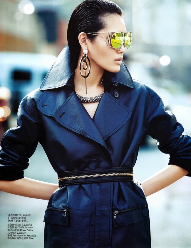 VOGUE CHINA- Chiharu Okunugi in Street Leather by Lachlan Bailey. Clare Richardson, November 2013, www.imageamplified.com, Image Amplified (1)