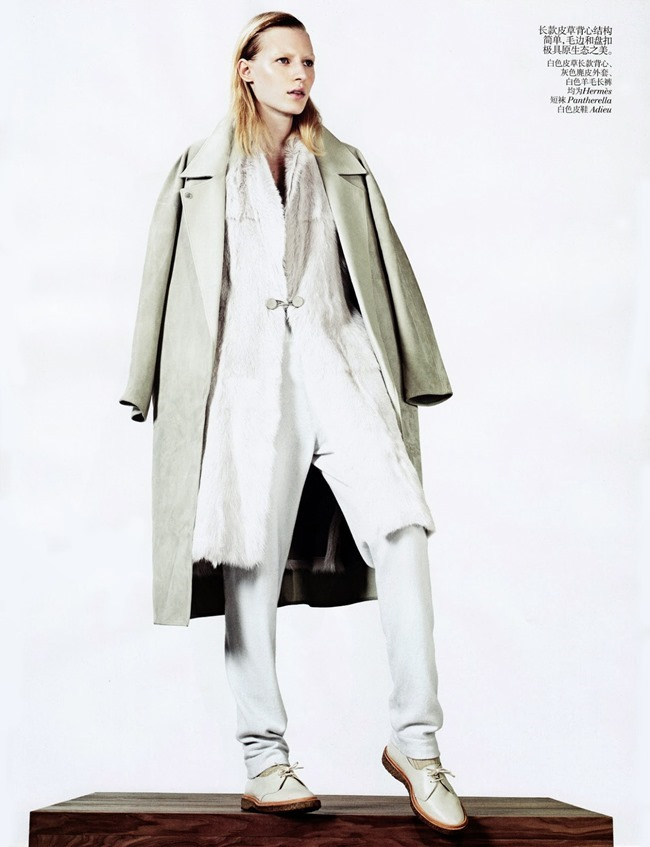 VOGUE CHINA- Julia Nobis in Simple Sporty Furs by Sharif Hamza. Tina Laakkonen, November 2013, www.imageamplified.com, Image Amplified (3)