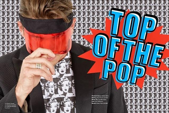 ADON MAGAZINE- Adam Senn in Top Of The Pop by Adrian Nina. Roy Fire, Tal Peer, www.imageamplified.com, Image amplified